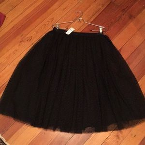 Ann Taylor midi party skirt